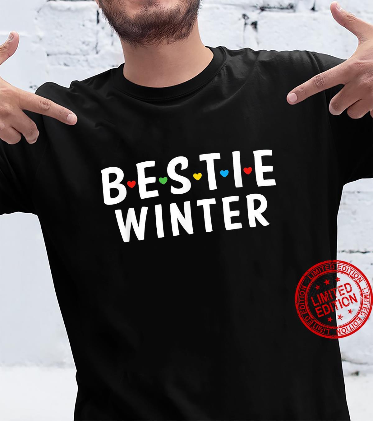 Bestie Winter Name, Bestie Squad Design Best Friend Winter Shirt