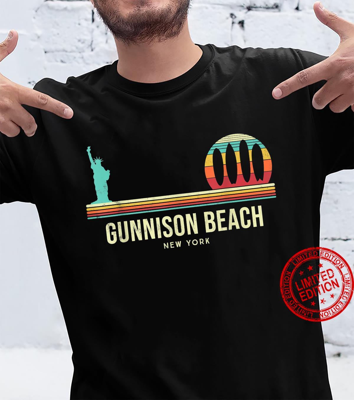 Gunnison beach Surf New York Vintage Shirt