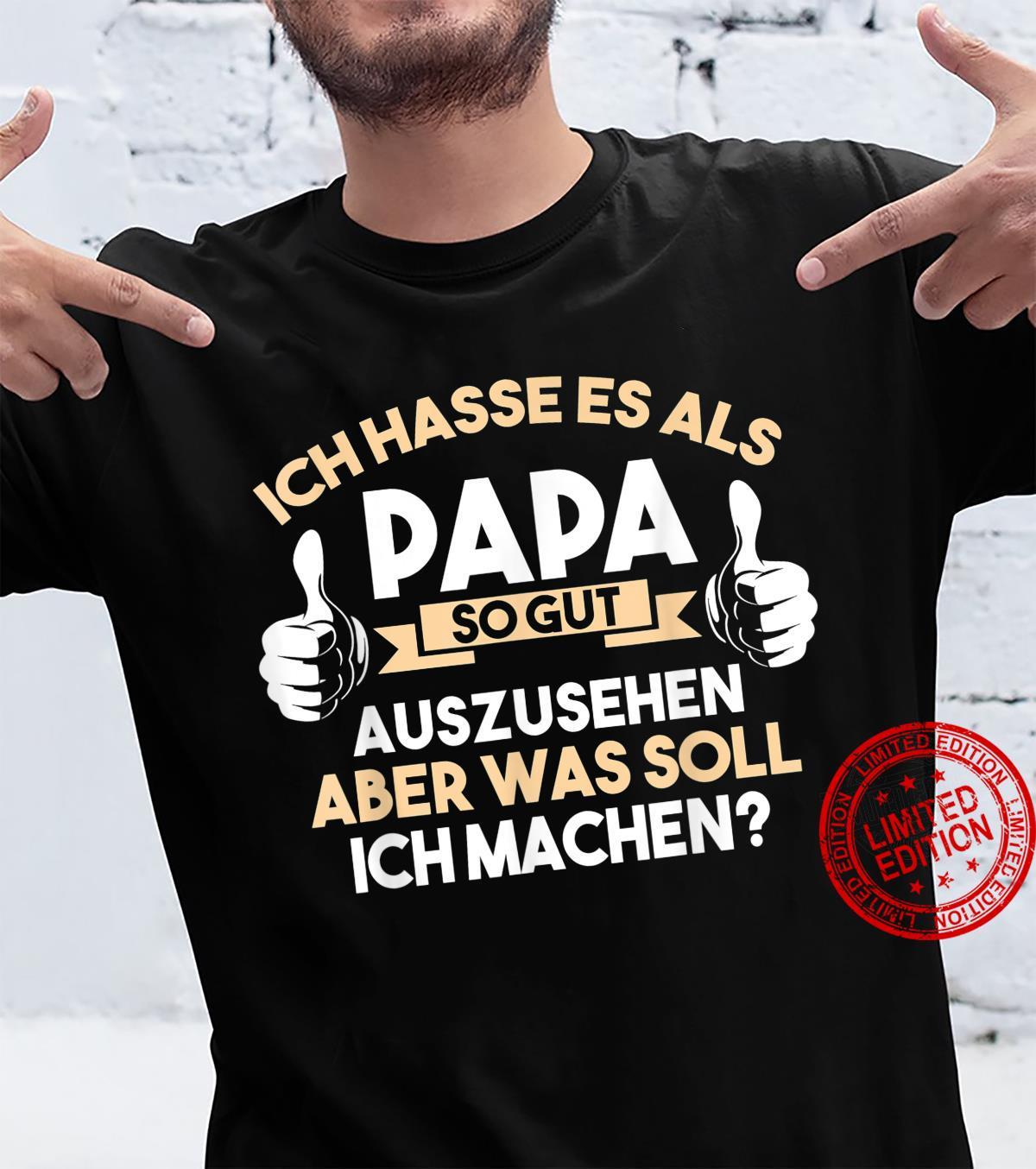 Herren Papa Eltern Vater Familie Shirt