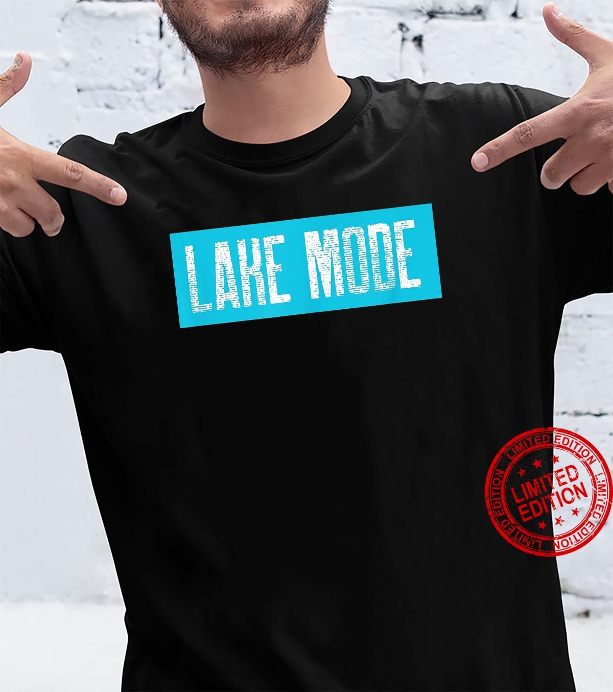 Lake Mode Retro Design Lake Shirt