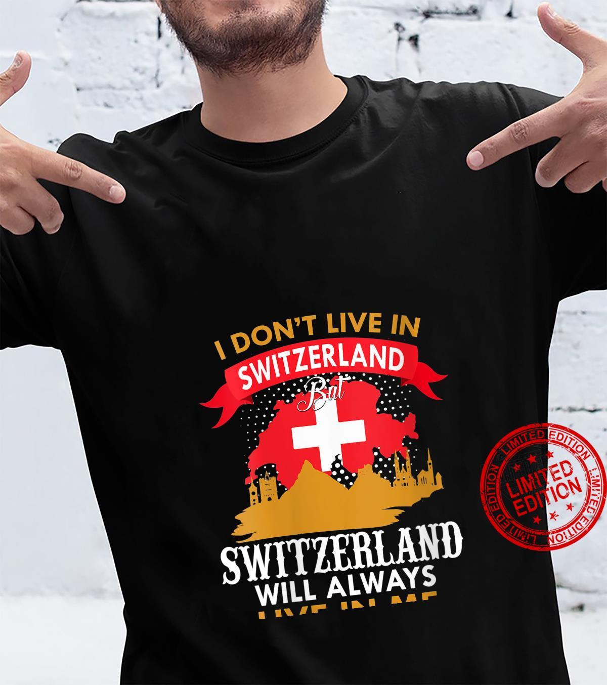 Womens Switzerland Design Shirt