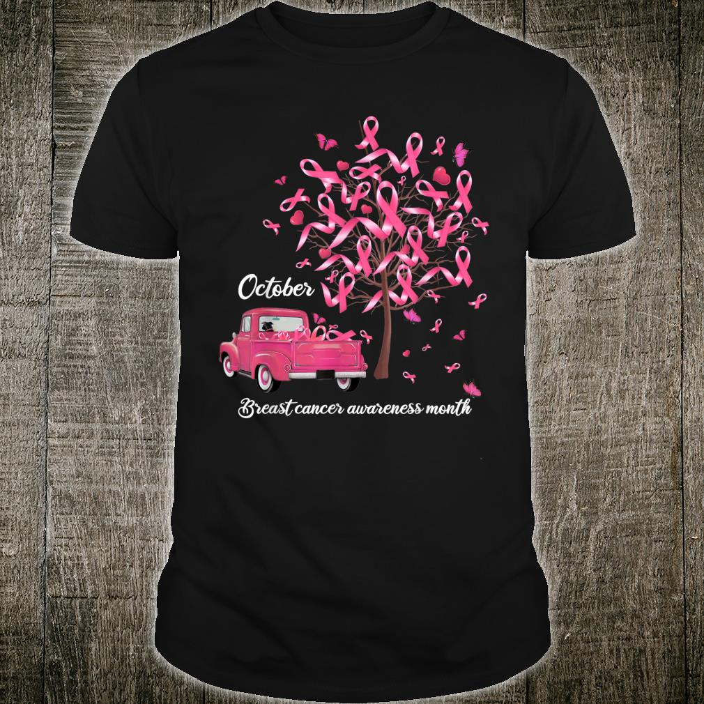October is All About PINK Youth/'s T-Shirt Breast Cancer Awareness Shirts