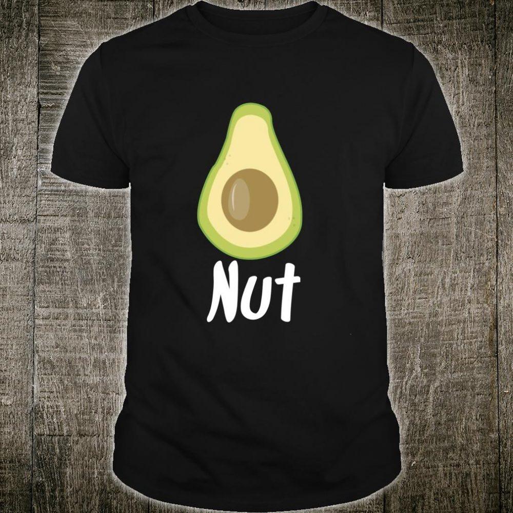 Avocado Nut Avocado Food Vegan Shirt
