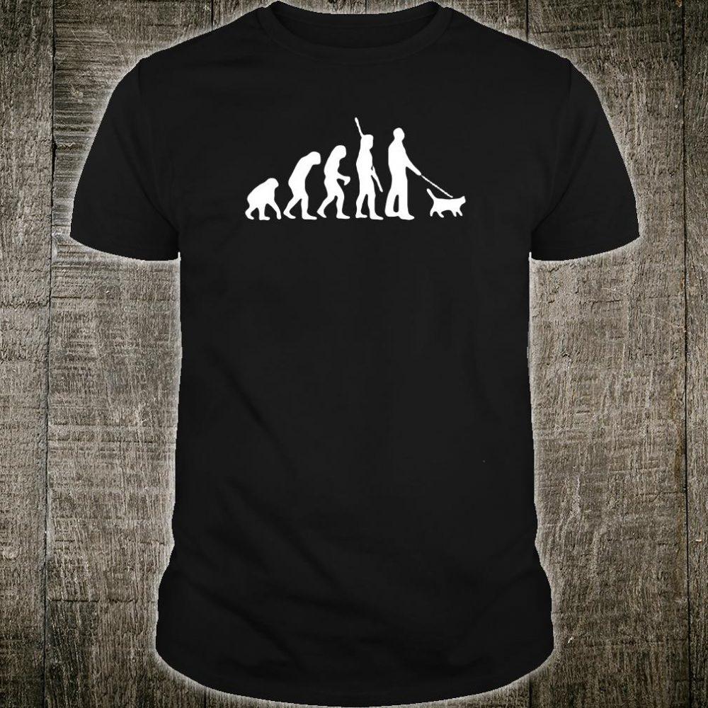 Diagram of human evolution shirt