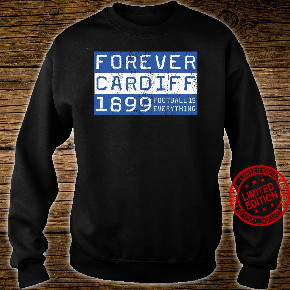 Football Is Everything City of Cardiff Forever 80s Retro Shirt sweater