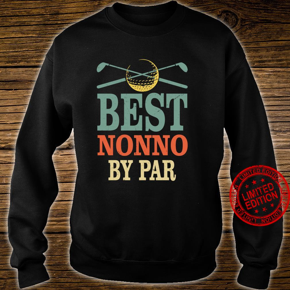 Funny Best Nonno By Par Father's Day Golf Grandpa Shirt sweater