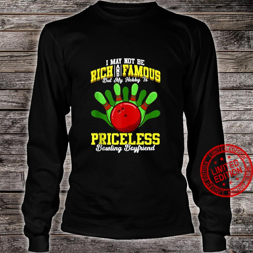 Funny Bowler Boyfriend Bowler Quotes Shirt long sleeved