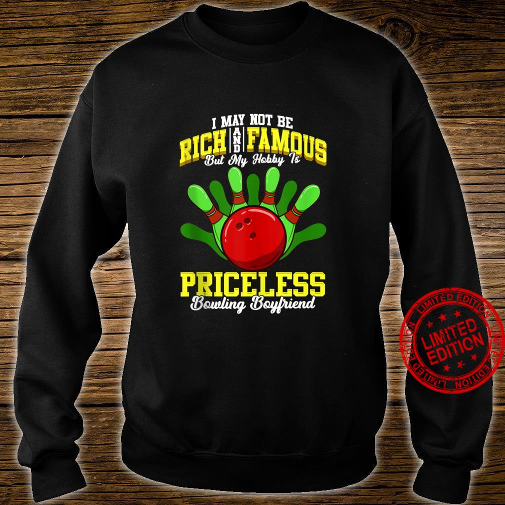Funny Bowler Boyfriend Bowler Quotes Shirt sweater