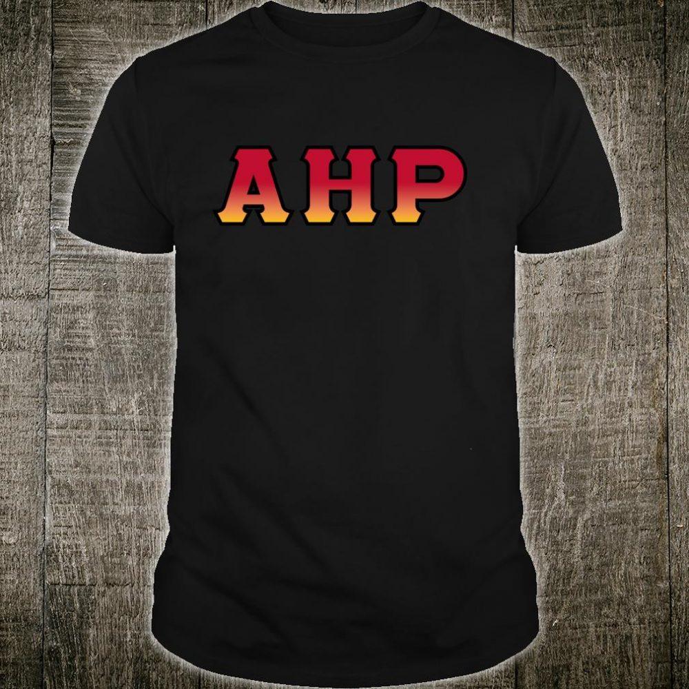 Greek letters Alpha, Eta, and Rho Shirt