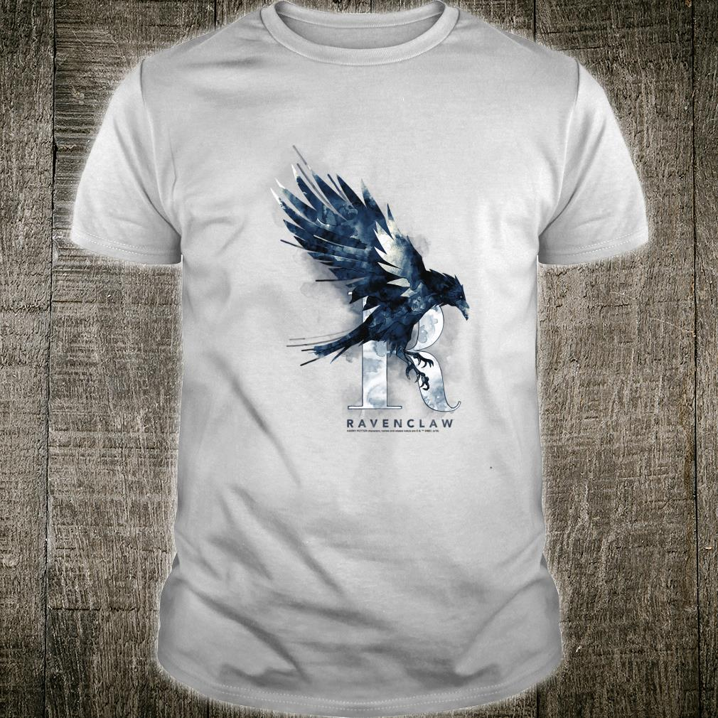 Harry Potter Ravenclaw House Watercolor Shirt