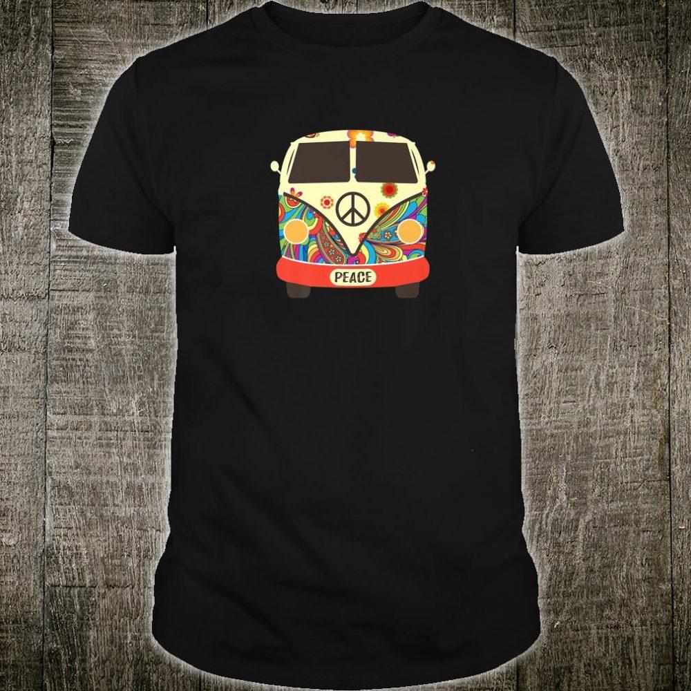 Hippie Hippies Peace Vintage Retro Costume Hippy Shirt
