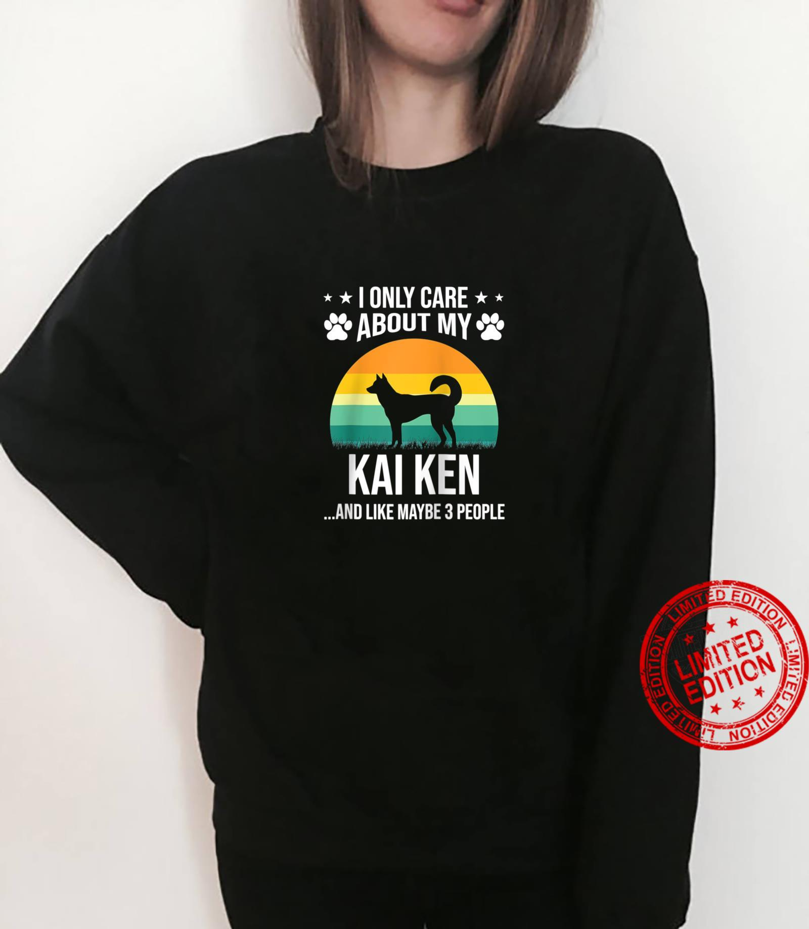 I Only Care About My Kai Ken Dog Shirt sweater
