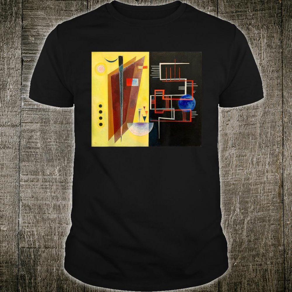Inner Aliance Abstract Painting by Wassily Kandinsky Shirt