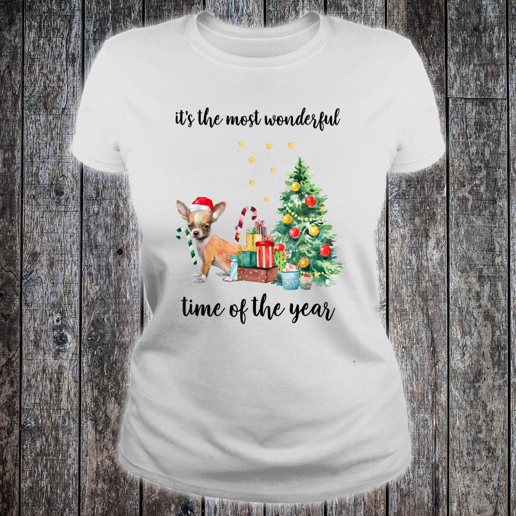 Ladies It/'s The Most Wonderful Time Of the Year Shirt Christmas Xmas T-Shirt Tee