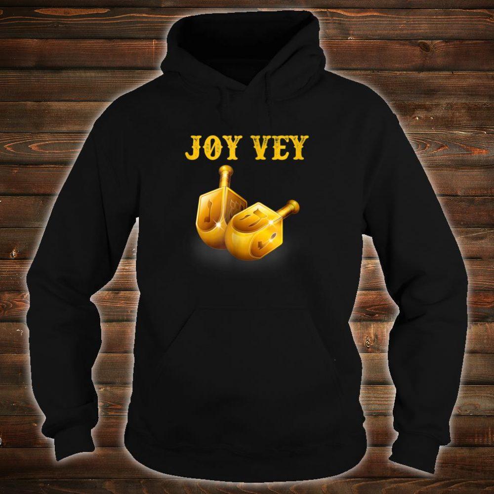 Joy Vey Hanukkah Shirt hoodie
