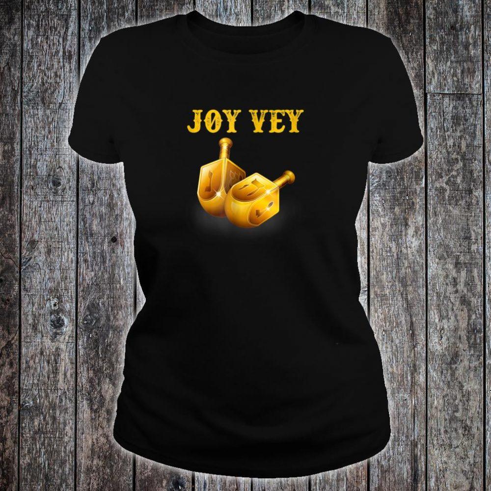 Joy Vey Hanukkah Shirt ladies tee