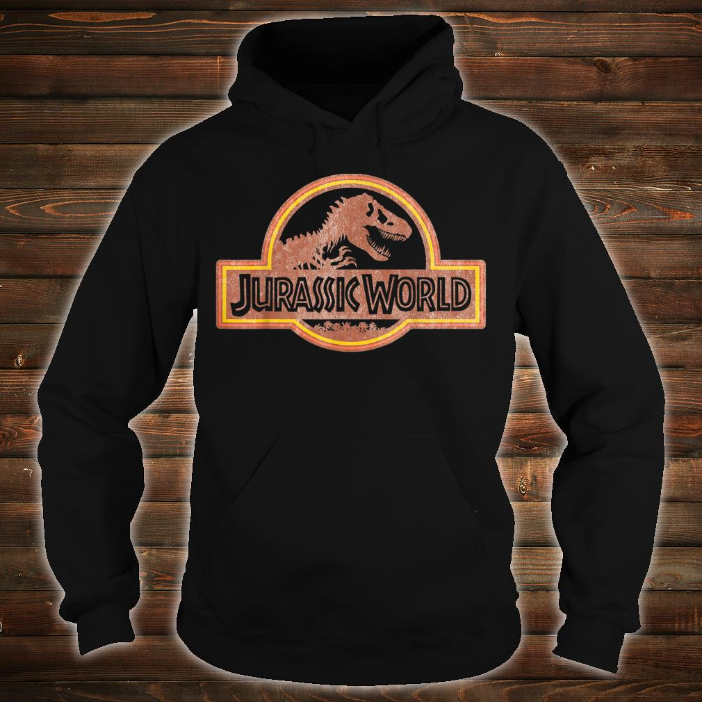 Jurassic World Retro Logo Shirt hoodie