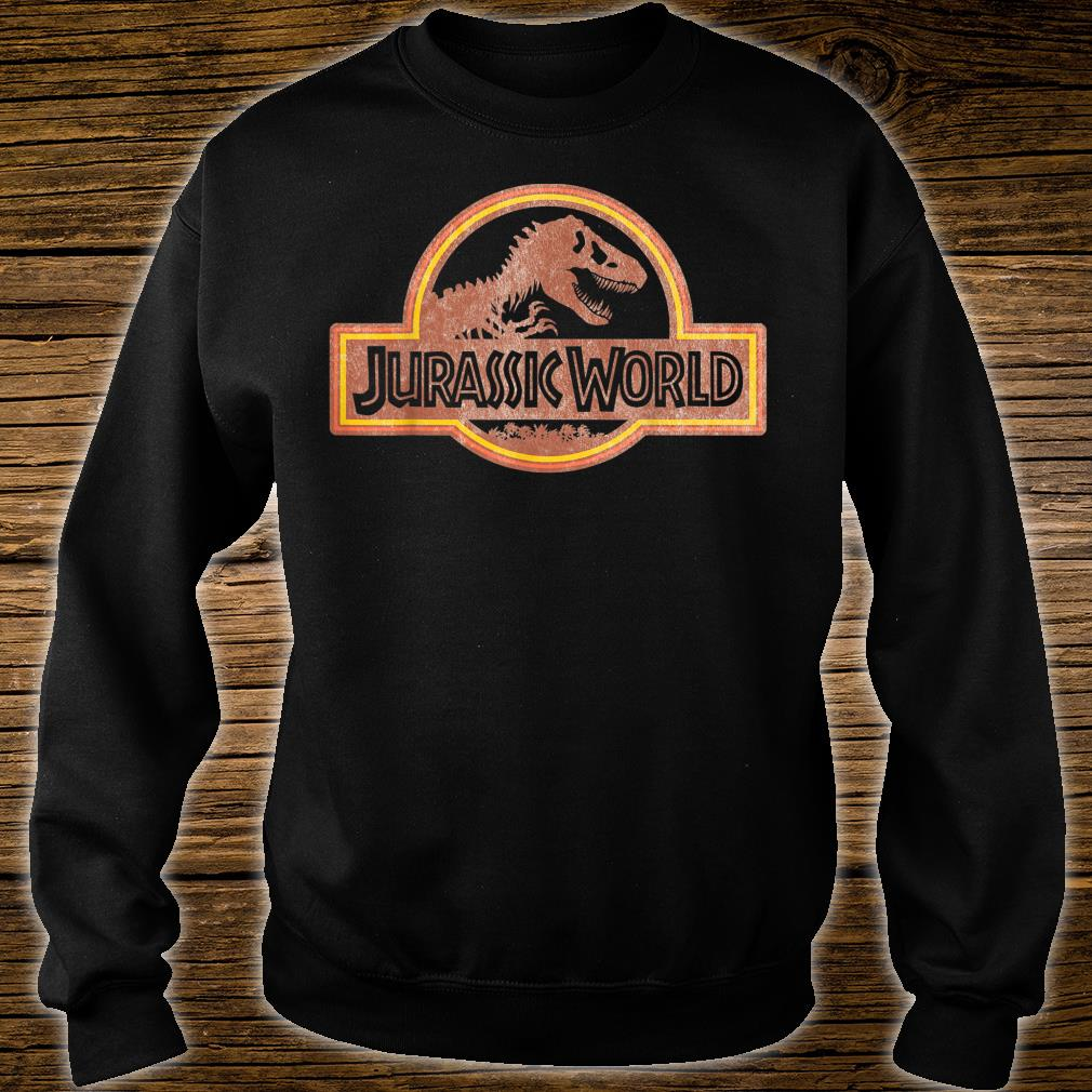 Jurassic World Retro Logo Shirt sweater