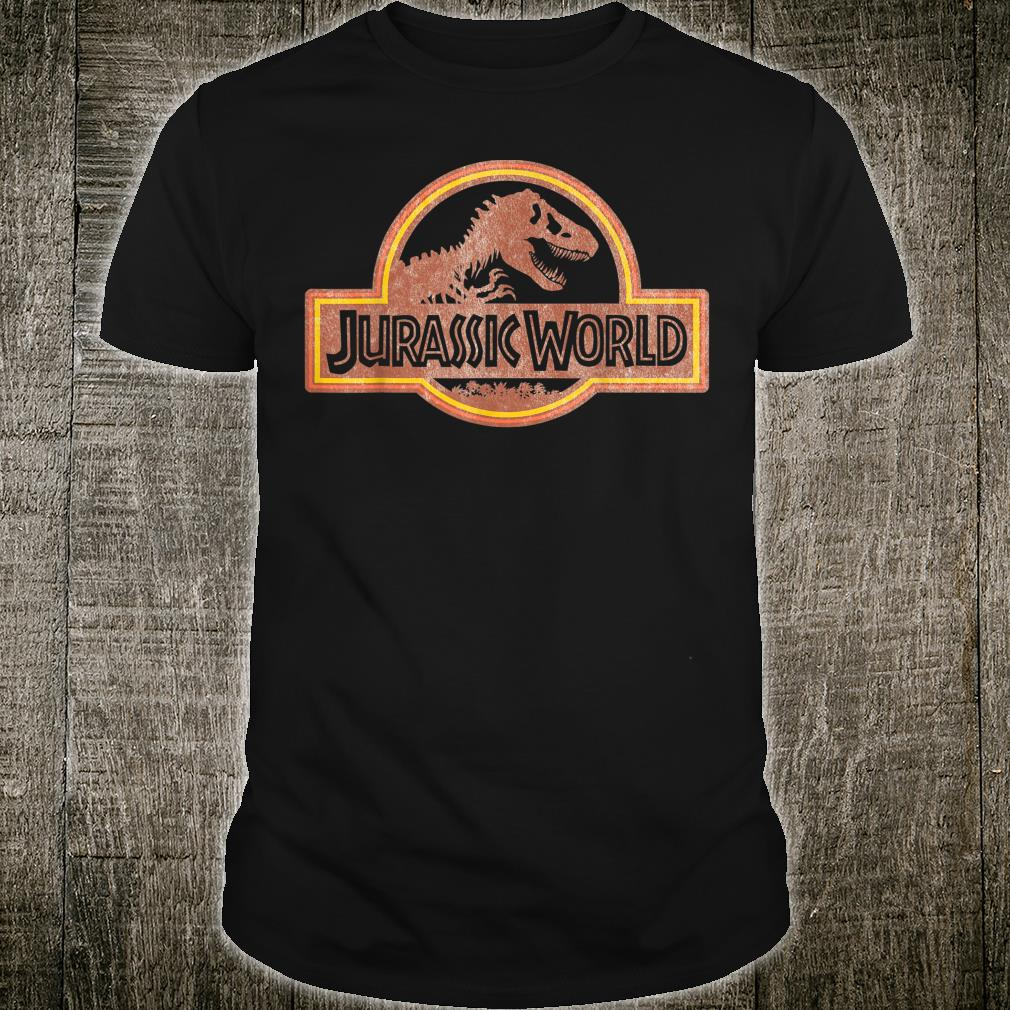 Jurassic World Retro Logo Shirt