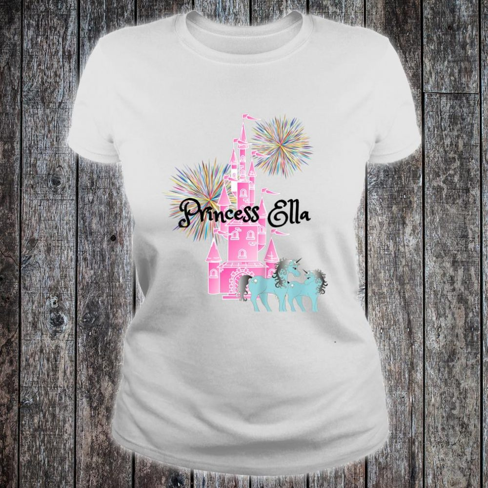 Personalised Name T-Shirts Kids Tee Printed Childrens Princess Boys Girls Custom