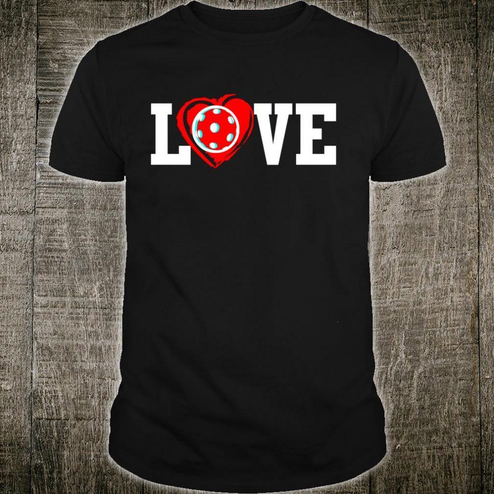 LOVE Heart Pickeball Shirt