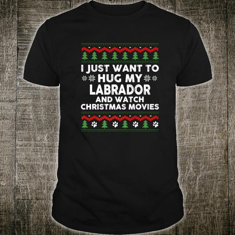Labrador Christmas Xmas Pajama Shirt