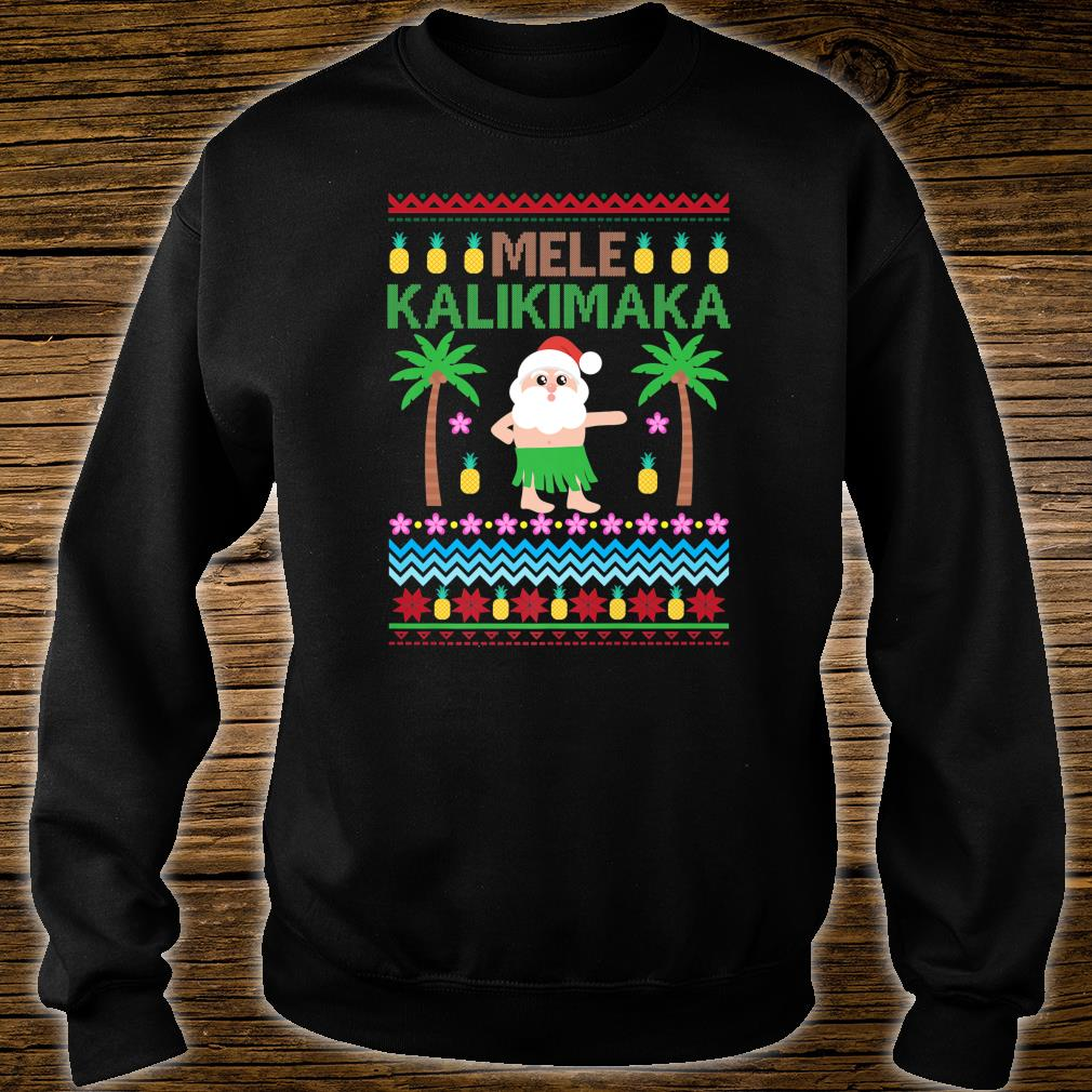 Official Mele Kalikimaka Hawaiian Merry