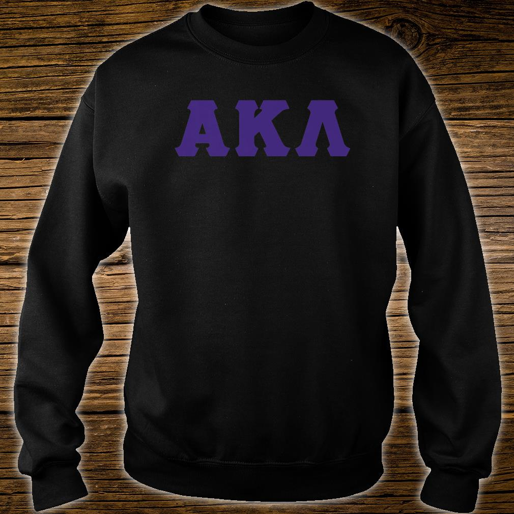 Greek Letter Before Kappa.Mens Greek Letters Alpha Kappa And Lambda Shirt