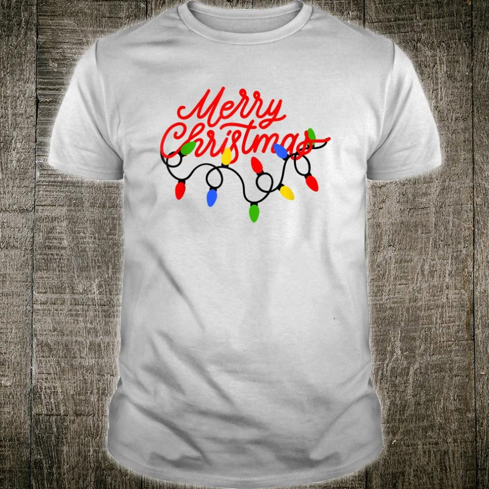 Merry Christmas Lights Shirt