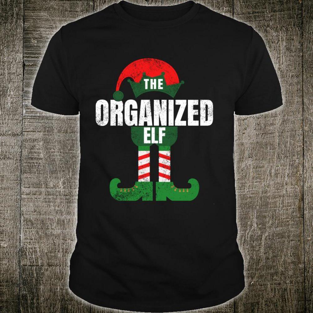 Organized Elf Christmas Family Matching Pajamas Shirt