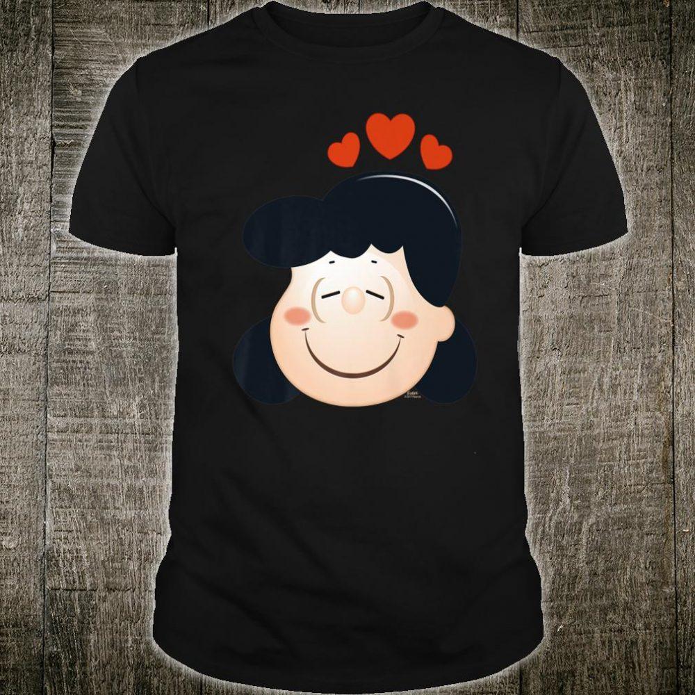 Peanuts Lucy Love Hearts Shirt