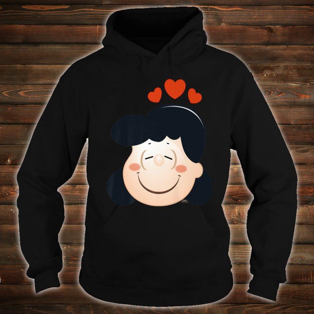 Peanuts Lucy Love Hearts Shirt hoodie