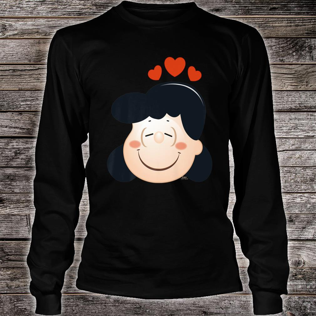 Peanuts Lucy Love Hearts Shirt long sleeved