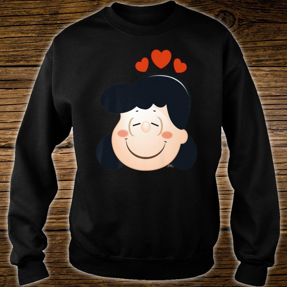 Peanuts Lucy Love Hearts Shirt sweater