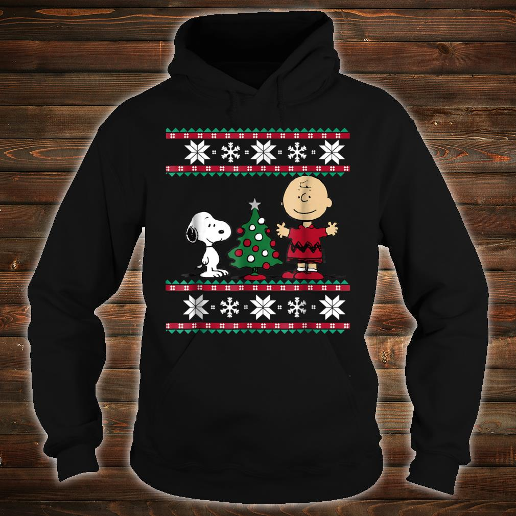 Peanuts Snoopy and Charlie Christmas Shirt hoodie