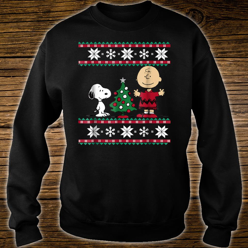 Peanuts Snoopy and Charlie Christmas Shirt sweater