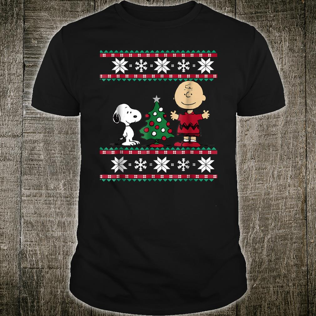 Peanuts Snoopy and Charlie Christmas Shirt