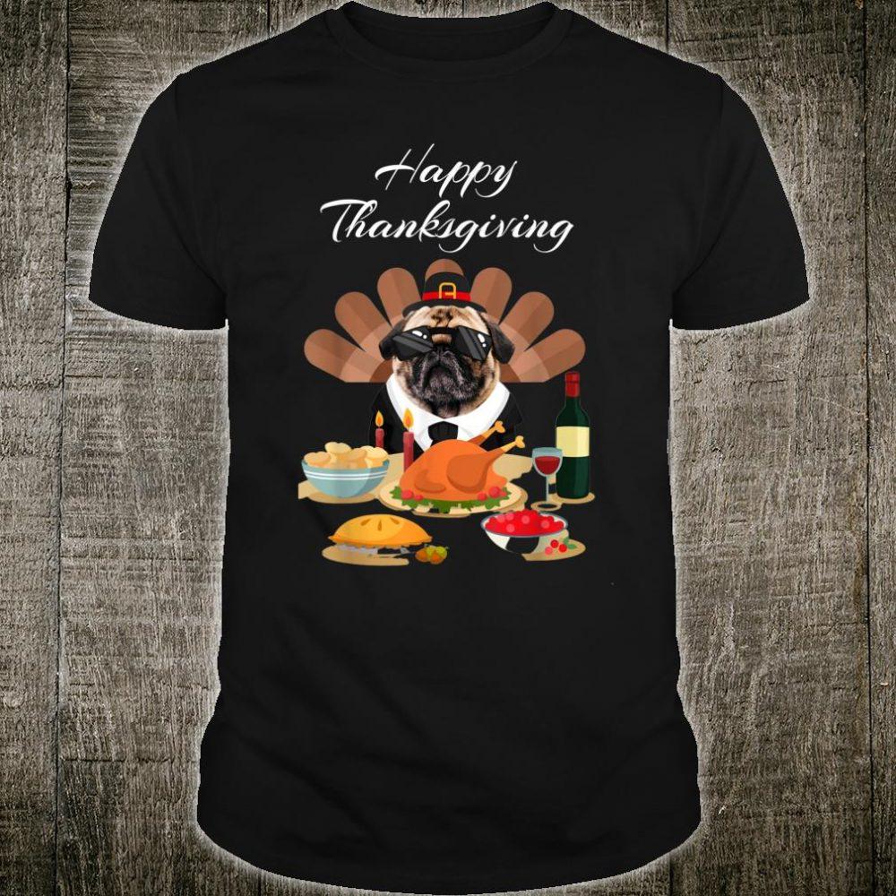 Pit Bull Happy Thanksgiving Day Dog Turkey Shirt