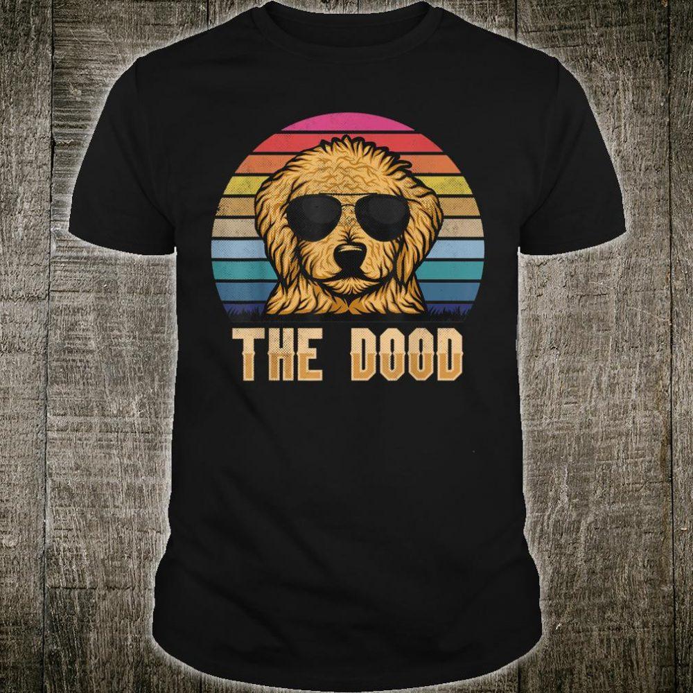 Retro Vintage Goldendoodle The Dood Shirt Dad Mom Shirt