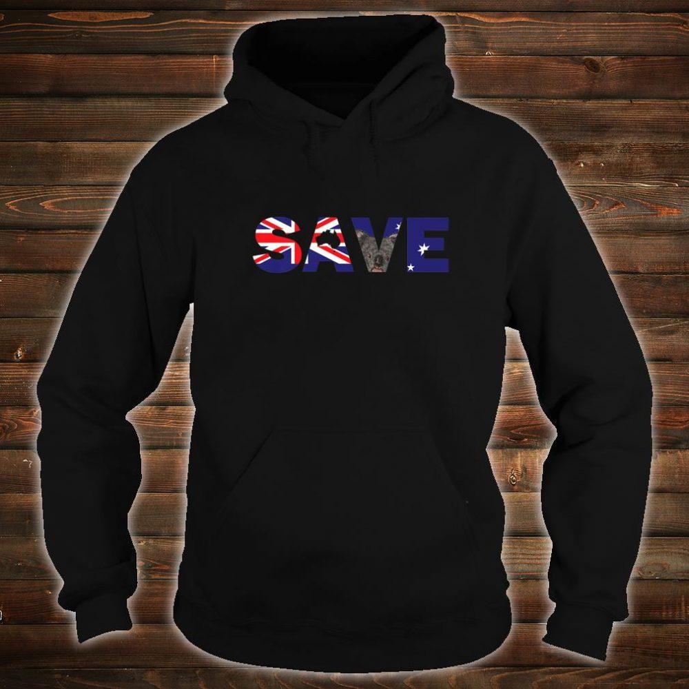 Save Australia Wildlife from Bush Fires Shirt hoodie