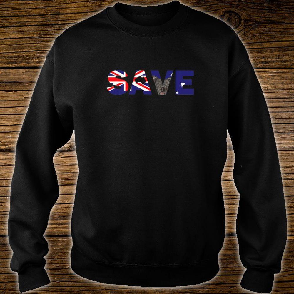 Save Australia Wildlife from Bush Fires Shirt sweater