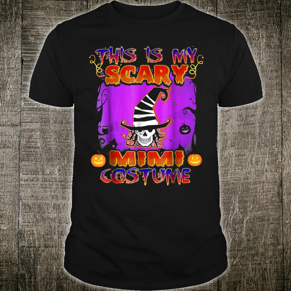 This Is My Scary Mimi Costume Halloween Shirt