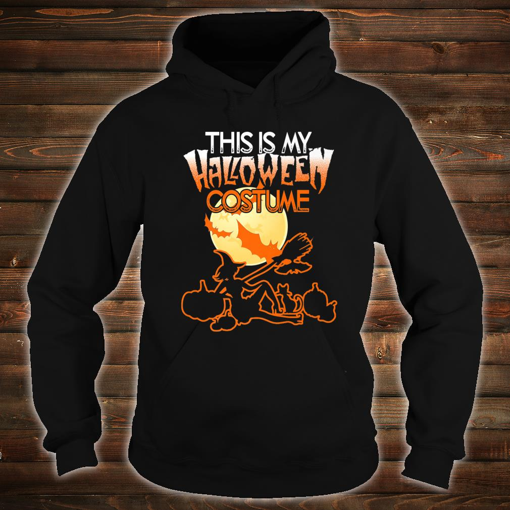 This is My Halloween Costume Shirt Moon Witch Halloween Shirt hoodie