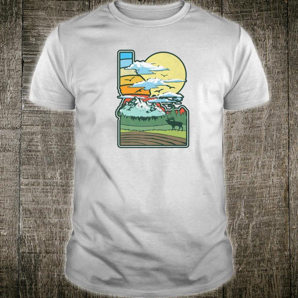 Vintage Idaho Nature & Outside Retro 80's Shirt