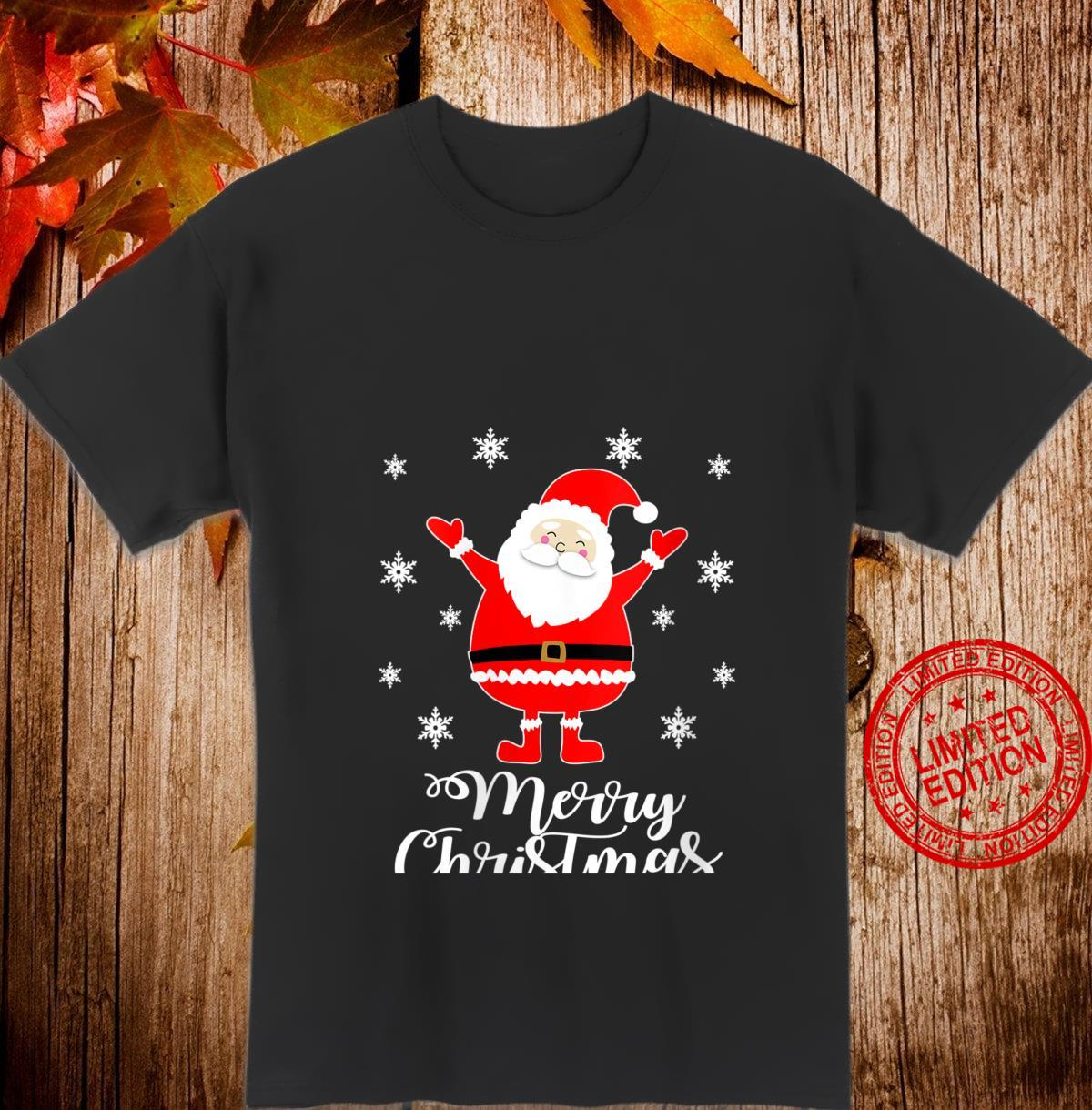 Womens Merry Christmas Santa Claus Approved Shirt